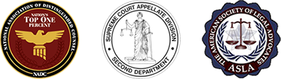 National Association of Distinguished Counsel Top One Percent, Supreme Court Appellate Division, ASLA